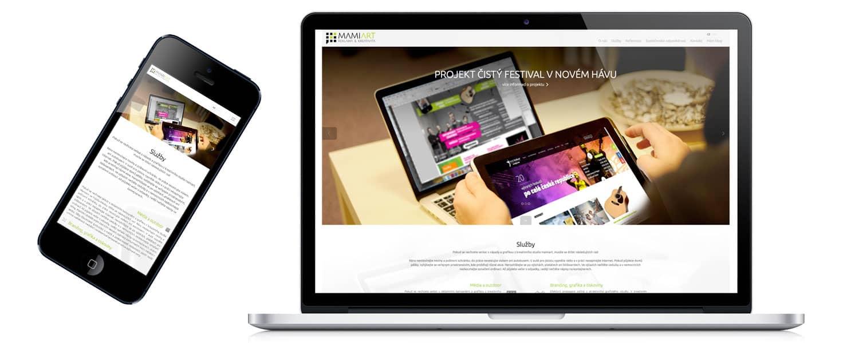 Responzivní design webu