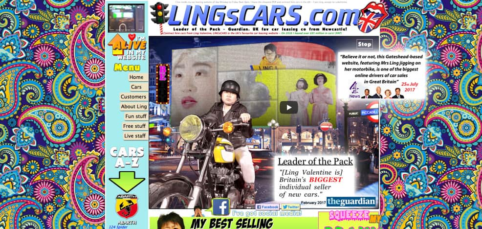 img lings cars - Využití negativního prostoru v grafice a horror vacui