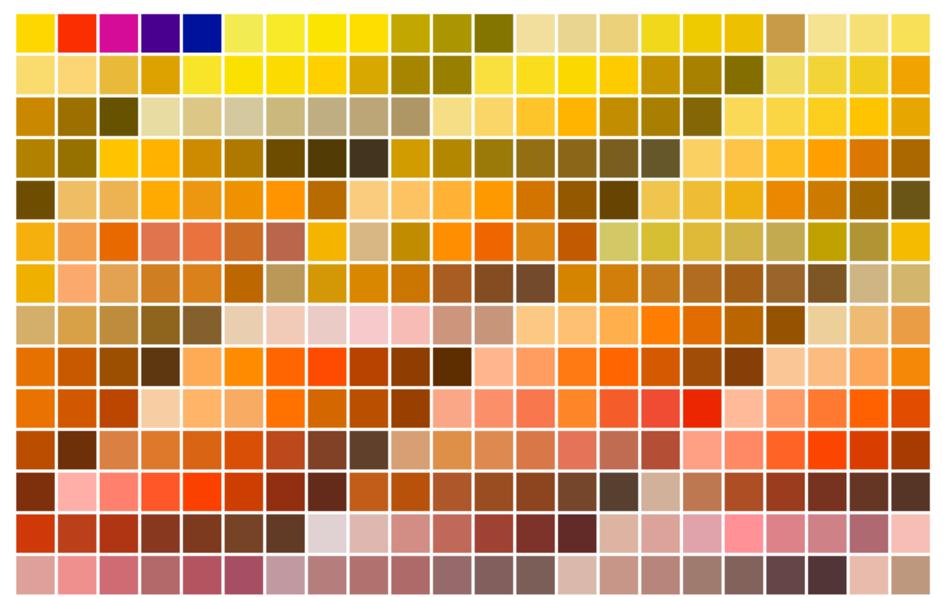 03 color shades - Není barva na monitoru jako barva na papíře