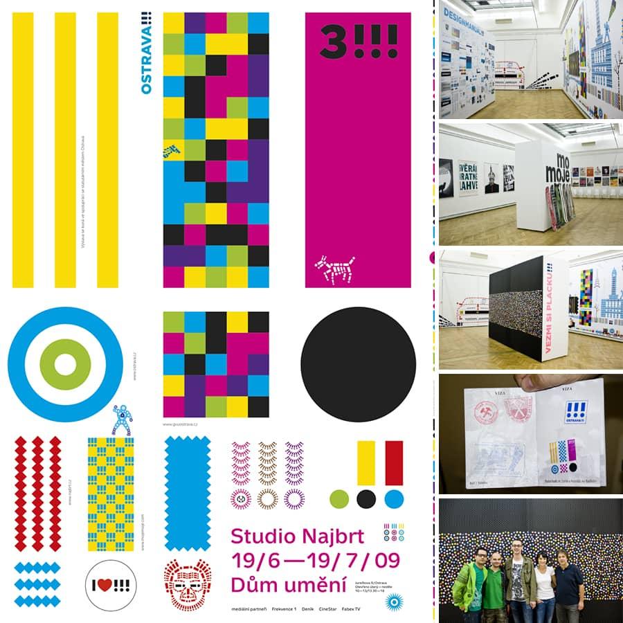 Studio Najbrt: prezentace v Domě umění